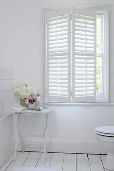 Interior shutters- Always have loved shutters.