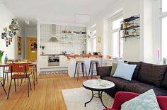 One Bedroom Apartment with an Open Floor Plan