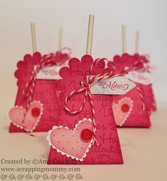 idea for a lollipop holder