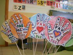 Inspiración para trabajar con niños el día de la Paz