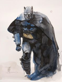 The Dark Knight by Alex Maleev