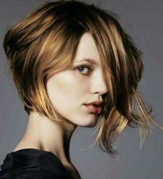 Assymetrical haircut