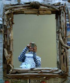 Acorn Pies: Make a Driftwood Mirror