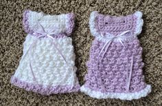 Lily's Angel Closet: Crochet Kimono Dress  ~ LINK CORRECT and pattern is FREE when I checked on 04/07/2015.  To fit 20-22 weeks gestation