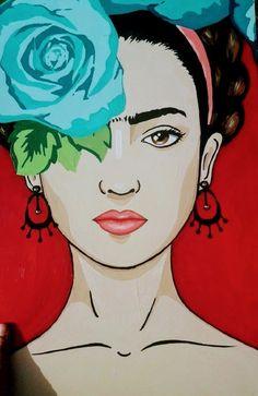 Fridah Kahlo, Frida Kahlo Portraits, Frida Kahlo Artwork, Kahlo Paintings, Afrique Art, Frida Art, Mexican Art, Face Art, Art Inspo