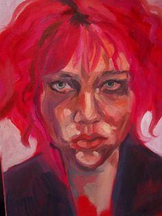 Marlene Dumas Self Portrait July 27 2012
