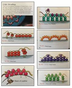 Not sure of original source Native Beading Patterns, Beadwork Designs, Beaded Earrings Patterns, Native Beadwork, Bead Loom Patterns, Bead Loom Designs, Bead Embroidery Tutorial, Bead Embroidery Jewelry, Beaded Embroidery