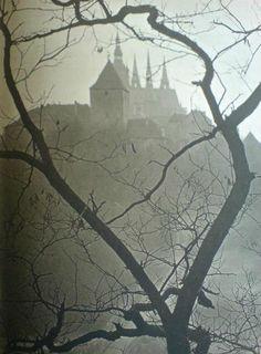 JOSEF SUDEK (1896 - 1976) St. Vitus Cathedral, Prague, 1924