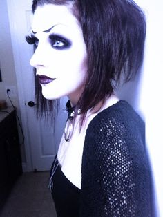 (5) Tumblr Gothic Looks, Dark Beauty, Gothic Fashion, Darkness, Chokers, Style, Swag, Stylus, Outfits