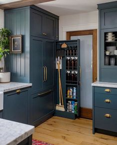 New Interior Decor Trends That Will Be Huge in 2020 (Part II) by DLB interior decor trends decor ideas, modern kitchen, kitchen cabinets Kitchen Pantry Design, Diy Kitchen Storage, Modern Kitchen Design, Home Decor Kitchen, Interior Design Kitchen, Home Kitchens, Interior Decorating, Kitchen Pantry Cabinets, Kitchen Cleaning