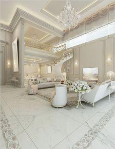 Nadire Atas on Elegant Living Rooms 40 Awesome And Luxury Bedroom Design Ideas Luxury Bedroom Design, Luxury Interior, Home Interior Design, Interior Modern, Luxury Decor, Modern Luxury, Dream Home Design, House Design, Elegant Living Room