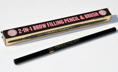 Soap & Glory Archery 2 in 1 Brow Filling Pencil & Brush - Brow Wiz Dupe?!
