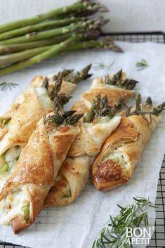 Brunch, Cooking Recipes, Healthy Recipes, Fresh Rolls, Food Inspiration, Asparagus, Starters, Nom Nom, Good Food