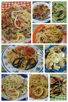 Raccolta di ricette per cucinare gustosi spaghetti al pesce ! #ricette #spaghetti #pesce #ricettegustose Italian Pasta, Spaghetti Recipes, Dessert Recipes, Desserts, Fish And Seafood, Risotto, Nom Nom, Buffet, Food Porn