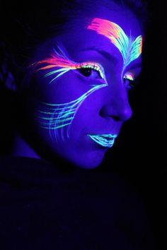 Tinta Líquida Fluorescente 6 Cores Cítricas - Neon Facial - R$ 26,99 no MercadoLivre