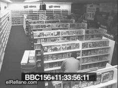 ghosts in video store - I was on the internet and came across this footage of a ghost in a video store...what do you think? Is it or isn't it real?