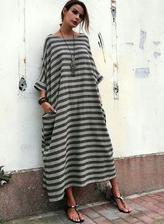 Shop Floryday for affordable Dresses. Floryday offers latest ladies' Dresses collections to fit every occasion. Linen Dresses, Casual Dresses, Floryday Dresses, Shift Dresses, Cheap Dresses, Vetement Hippie Chic, Look Boho, Affordable Dresses, Mode Hijab