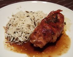 Bacon wrapped pheasant breast with orange sauce - CookTogether