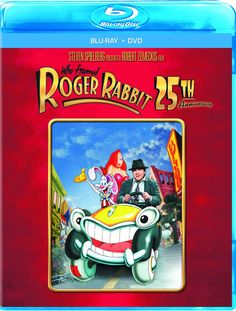 Rent Who Framed Roger Rabbit starring Bob Hoskins and Christopher Lloyd on DVD and Blu-ray. Get unlimited DVD Movies & TV Shows delivered to your door with no late fees, ever. One month free trial! Roger Rabbit, Jessica Rabbit, Bob Hoskins, Detective, Series Gratis, Disney Blu Ray, Blu Ray Movies, Steven Spielberg, Musicals