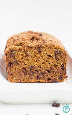Chocolate Chip Pumpkin Bread with Quinoa