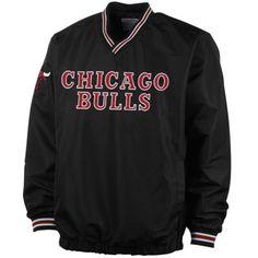 Chicago Bulls Matchup V-Neck Pullover - Black $49.95
