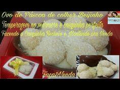 Ovo de Páscoa de colher, com recheio de Beijinho.Fazendo a casquinha, recheando e embalando . - YouTube