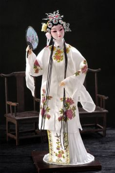 Oriental-Broider-Doll-Chinese-Old-style-figurine-China-doll-DU-SHI-NIANG-girl-13