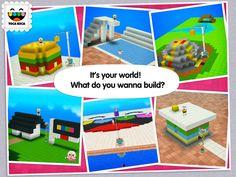 Toca Builders App by Toca Boca AB. Sandbox creative builder apps.