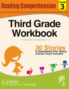 Worksheets Free Third Grade Reading Worksheets comprehension the ojays and worksheets on pinterest this third grade reading workbook includes 30 high quality engaging passages each