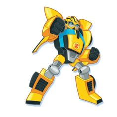 Bee in Rescue Bots style