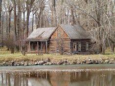 Remote cabin- I LOVE IT(:   Me(: