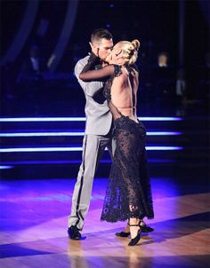 "Peta Murgatroyd & James Maslow's hot tango to ""Adore You"" by Miley Cyrus scored 9+10+10 = 29 of 30 possible points(Judges' Pick) - in the season 18 finals making them the season;s 4th runners-up - Dancing With the Stars - Week 10 finale - Spring 2014"