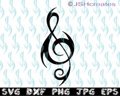 Music Note Symbol, Music Symbols, Minecraft Pixel Art, Gift For Music Lover, Music Gifts, Free Printable Sticker, Rose Half Sleeve, Treble Clef Tattoo, Rose Music