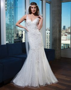 Justin Alexander signature wedding dresses style 9745 Floral and feather hand…