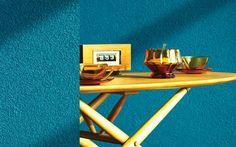 Työohje  1.Maalaa seinä Harmony Sisustusmaalilla.  2.Levitä Tunto Karhea teräsliipillä raekoon paksuisena kerroksena.  3.Hierrä pinta välittömästi (15 minuutin sisällä) muovihiertimellä kevyesti painaen. Structure paint.