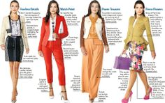 WJS.com shows us the new look for career women in 2012/2013.