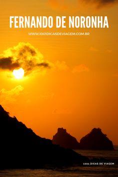 Pôr do Sol no paraíso - Fernando de Noronha - Brasil. Foto: © NiKi Verdot. Para dicas e roteiros, acesse: www.1001dicasdeviagem.com.br