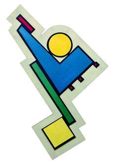 Rhod Rothfuss, Pintura Madí o persistencia de un contorno Madí, 1946 • Arte Madi, Geometry, Design Art, Symbols, Logos, Drawings, Painting, Bubble Gum, Google