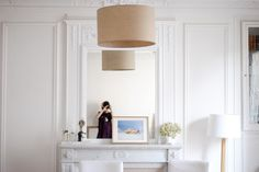 cheminée Floating Nightstand, Table, Furniture, Home Decor, Tables, Home Furnishings, Interior Design, Home Interiors, Desk