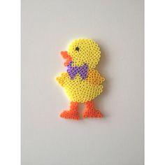 Easter chicken perler beads by annesofie_lorentzen