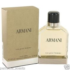 nice ARMANI POUR HOMME  Giorgio Cologne for Men  EDT  3.4 oz  BRAND NEW IN BOX Check more at http://shipperscentral.com/wp/product/armani-pour-homme-giorgio-cologne-for-men-edt-3-4-oz-brand-new-in-box/