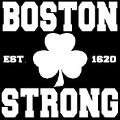 New Custom Screen Printed T-shirt Boston Strong Small - 4XL Free