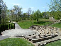 Beautiful amphitheater.  NC Arboretum.