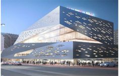 Drawings envision $56-million proposed makeover for Stanley A. Milner Library