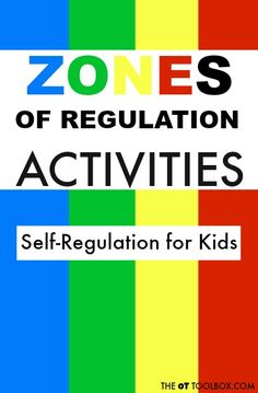 Zones of Regulation Activities - The OT Toolbox Use these Zones of Regulation activities to help kids understand the zones and self-regulation as they learn coping strategies that can help with self-regulation. Coping Skills Activities, Emotions Activities, Therapy Activities, Social Work Activities, Teaching Emotions, Zones Of Regulation, Emotional Regulation, Pediatric Occupational Therapy, Pediatric Ot