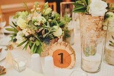 woodland wedding arrangements