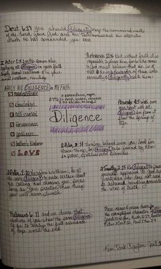 Topical Verse Mapping, See Facebook group, Verse Mapping, Bible. Diligent/diligence #versemapping #biblestudy #inductivebiblestudy #biblejournaling