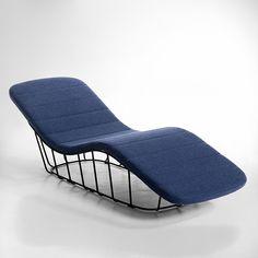 Chaise longue, Dan Yeffet (Gallery S. Bensimon pour La Redoute)