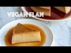 Hola everyone. If you haven't had flan since going vegan, here's your chance to indulge and eat it again. You're going to love this vegan flan. It's egg Caramel Flan, Creme Caramel, Vegan Sweets, Vegan Desserts, Dessert Recipes, Vegan Flan, Vegan Cheesecake, Flan Recipe, Why Vegan