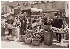 Indianapolis Market. August 1908